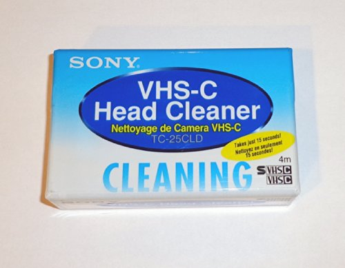 Price comparison product image SONY TC25CLD1B Vhs-C Clean Cass 1 Bag