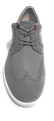Scarpe Uomo US Polo Sneaker Casual Tristan Suede/Tessuto Grey US18UP11