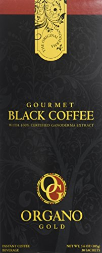6 Boxes of Organo Gold Ganoderma – Black Coffee (30 sachets per box)