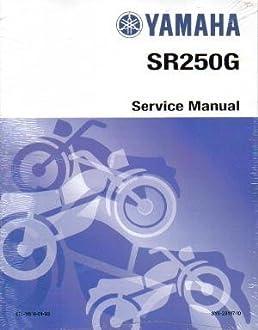 lit 11616 01 93 1980 1982 yamaha sr250 exciter service manual rh amazon com 1980 yamaha sr250 repair manual 1980s Yamaha Motorcycles