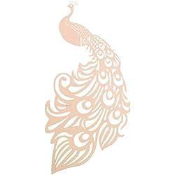 UEETEK Wine Glass Table Name Place Card Wedding Decoration 50pcs(Pink)