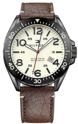 Tommy Hilfiger Men's 1791133 Casual Sport Analog Display Quartz Brown Watch