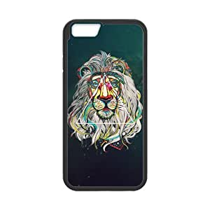 Canting_Good Lion Space Custom Case Cover Shell for iPhone 5C TPU (Laser Technology)
