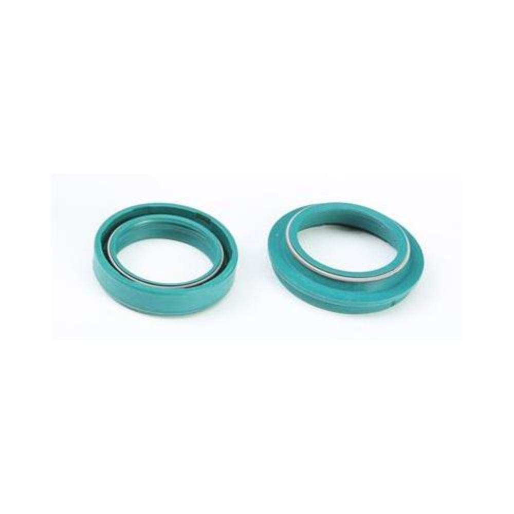 02-11 KTM 65SX: SKF Fork Seal And Wiper (35mm) (Green)