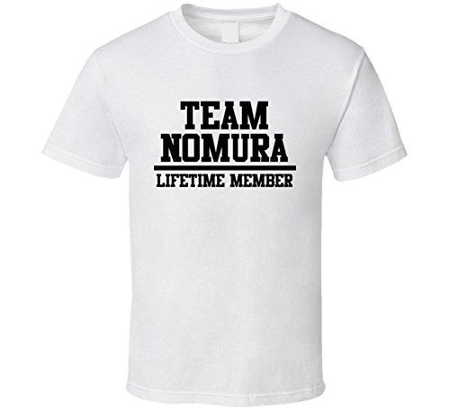team-nomura-lifetime-member-last-name-cool-t-shirt-m-white