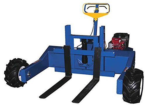 Beacon Gas Powered All Terrain Pallet Trucks; Capacity (LBS): 2,000; Adjustable Fork Width: 8