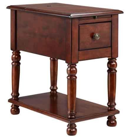 Cheap Stein World Eldora Accent Table, Black Cherry