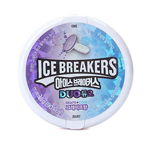 - Lotte Ice Breakers Duo Grape 36g x 8