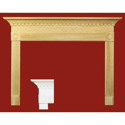 - Windsor MDF Primed Fireplace Mantel Surround Shelf Length: 42