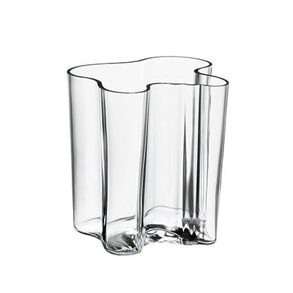 Amazon Iittala Alvar Aalto Vase 775 Clear Home Kitchen