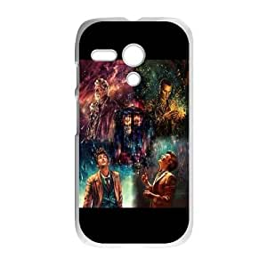 Motorola G Cell Phone Case White Doctor-Who-50th-Anniversary Clear Phone Case Generic XPDSUNTR25011