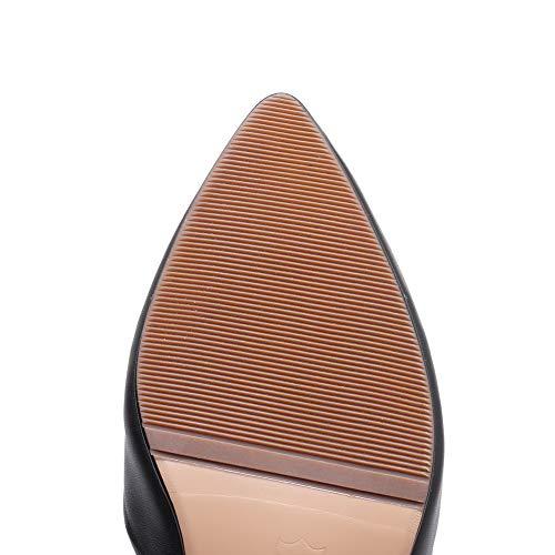 Compensées 5 SLC04334 36 Noir Femme Sandales AdeeSu Noir w1qBWE