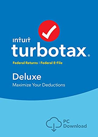 TurboTax Deluxe Tax Software 2017 Fed + Efile PC Download [Amazon Exclusive]