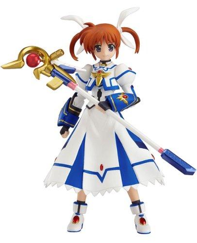 """Max Factory Magical Girl Lyrical Nanoha: Nanoha Takamachi """"Sacred Mode"""" Figma Action Figure"""