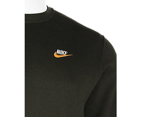 Nike Men's Sportswear Crew (Black/University Red/White, Small) (XX-Large) (Small, Green) by Nike (Image #2)