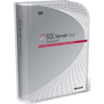 Microsoft SQL Server 2008 R2 Standard Edition 32-bit/x64 (10 Client Access Licenses) [Old Version]
