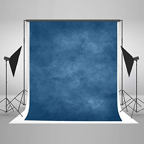 Kate 5x7ft Abstract Photography Backdrop Blue Portrait Background Studio Solid Blue Backdrops