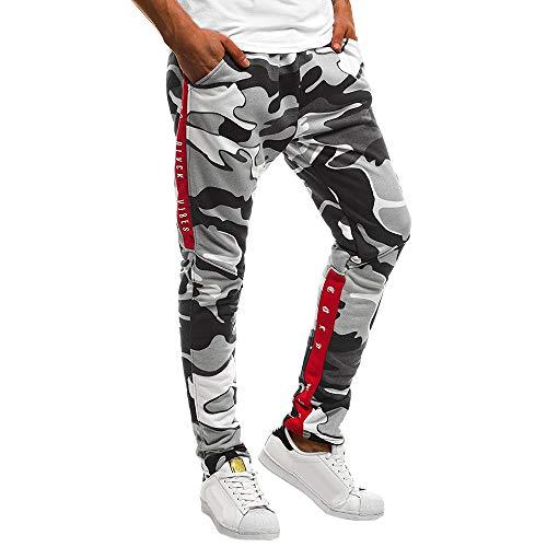 iYBUIA Men's Casual Jogger Sweatpants Basic Fleece Marled Jogger Pant Elastic -