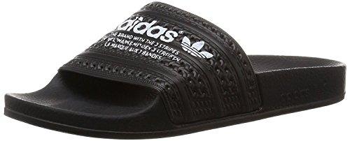 adidas Adilette, Herren Dusch- & Badeschuhe  schwarz schwarz