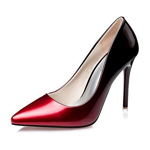 Renly Rouge vin 37 3058 Femme 36 EU 55 Rouge Escarpins 5 RYrwqR