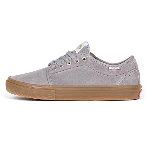 Skate Shoe Men Vans Chukka Low Pro Skate Shoes Frost Gray/gum 62nIePV