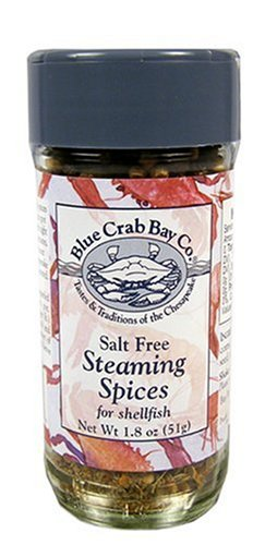 Blue Crab Bay Co. Steaming Spices, for Crabs & Shrimp, 1.8-Ounce Container (Pack of (Crab Spice)