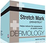 Dermology Stretch Mark Prevention Cream - Stop Stretch Marks From Forming and Remove Stretch Marks Lotion ~ 4 Packs