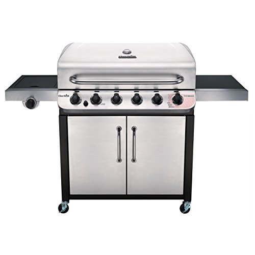 Char-Broil 463274619 Performance Series 6-Burner Gas Grill, Stainless/Black