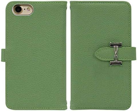 iPhone 8 Plus ベルト有り 手帳型 スマホケース スマホカバー fj6497(グリーン) リボン りぼん バックル 大人 ROYCE-EMU ロイスエミュ アイフォン8プラス アイフォンエイトプラス スマートフォン スマートホン 携帯 ケース アイホン8プラス アイホンエイトプラス 手帳 ダイアリー フリップ スマフォ カバー