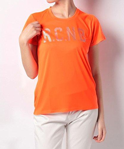 メンテナンス上に築きます嫌悪(ナンバー) Number レディースネオンカラービッグロゴTシャツ L ネオンオレンジ