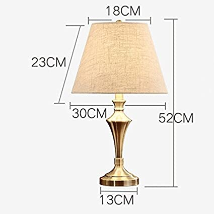 Amazon Com Fashion Vintage Wrought Iron Table Lamp Copper Plated