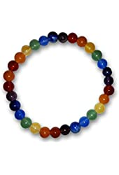 Chakra Gemstone Power Bracelet Beads 6mm Something Different