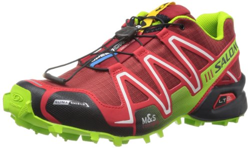 Salomon Speedcross 3 Cs - Zapatos para hombre Flea/Bright Red/GR