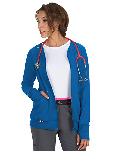 (KOI lite 445 Women's Clarity Scrub Jacket Royal S)