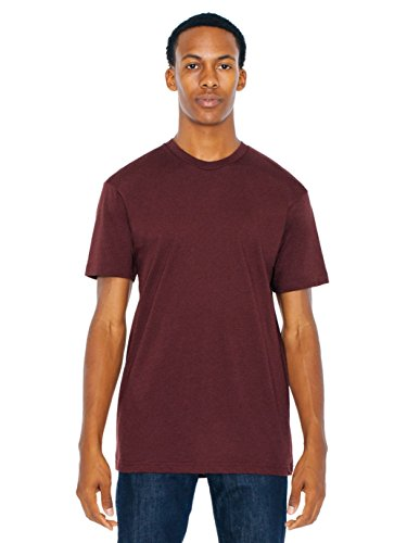 american-apparel-men-50-50-crewneck-t-shirt-size-l-truffle