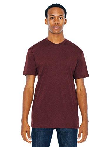 (American Apparel Men 50/50 Crewneck T-Shirt Size M Truffle)