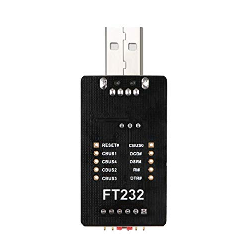 Iceyon USB to TTL Adapter, USB to Serial Converter Module FTDI FT232 USB UART FT232RL Compatible with Windows 7,8,10,Wince,Linux,Mac