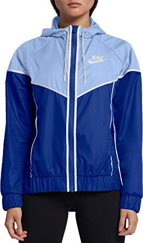 Nike Women's Sportswear Windrunner Jacket (Game Royal/Royal Tint/White, Size XX-Large) by Nike