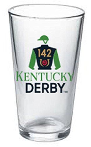 Kentucky Derby 142nd Pub Glass 16oz.