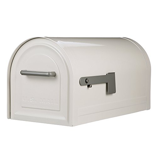 - Gibraltar Mailboxes MB981W01 Reliant Locking Mailbox, Large, White