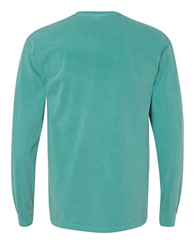 Comfort Colors Ringspun Garment-Dyed Long-Sleeve T-Shirt (C6014)- SEAFOAM,