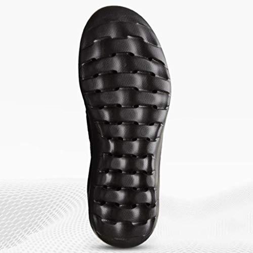 Outdoor Leggeri Rallentatore Size Donna E Caldo Neve Di Black Moda Scarpe Stivali Da Black Passeggio Velluto Camping color 40 05CvqOw