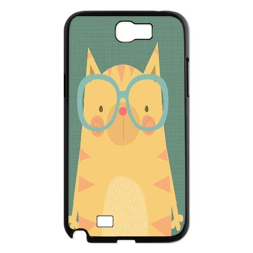 3893e8036d Image Unavailable. Image not available for. Color: LEMON cat Cute Cartoon  Retro Design Colorful Painted Phone Case ...