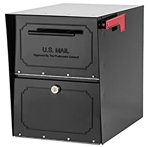 2. Architectural Mailboxes Locking Parcel Mailbox