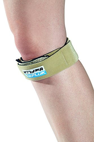 The Fluk - Premium Patella Knee Strap for Gymnastics and Cheerleading