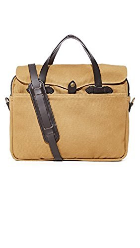 Filson Original Briefcase - Best For Business / Travel - Stylish Bag For Laptops, Tablets, And Books - Strong Twill, Quality Made