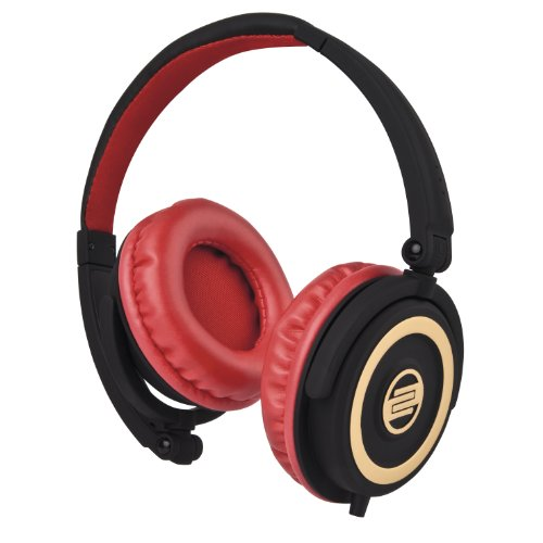 - Reloop RHP-5 DJ Headphones, Cherry Black