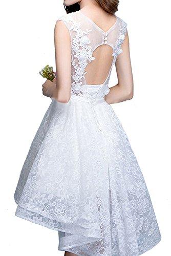 Kurzes Abendkleider Lilac Braut Brautjungfernkleider A Linie La Flieder Marie Rock Hi Cocktailkleider Spitze lo Damen 1axUwn