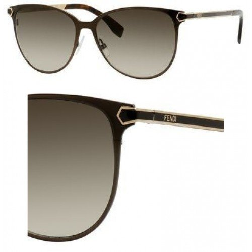 FENDI Sunglasses 0022/S 07Wg Semi Matte Brown - Brown Fendi