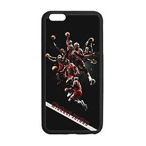 [Accessory] iPhone 6 Plus Case, [Michael Jordan] iPhone 6 Plus (5.5) Case Custom Durable Case Cover for iPhone6 TPU case(Laser Technology)